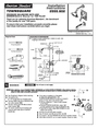 American Standard 2555.602 Installation Instructions