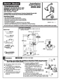 American Standard 2555.652 Installation Instructions