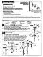 American Standard 2555.801 Installation Instructions