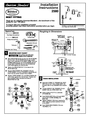 American Standard 2580 Installation Instructions