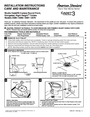 American Standard 2579 Installation Instructions