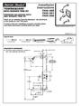 American Standard T555.500 Installation Instructions