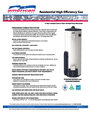 American Water Heater NRGSS01010 Warranty