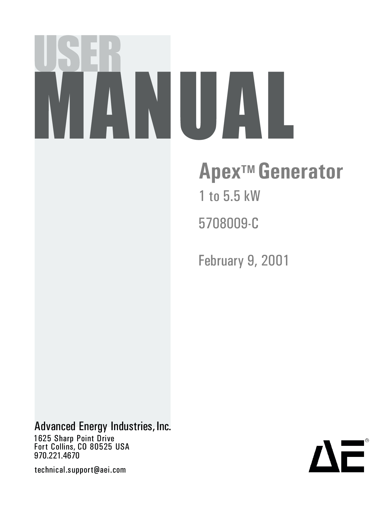 Apex Digital 5708009-C Manual