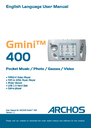 Archos 400 User Manual