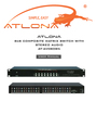 Atlona AT-AV0808N User Manual