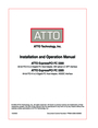 ATTO Technology FC 3300 Operation Manual