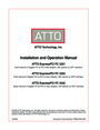 ATTO Technology FC 3321, FC 3322, FC 3342 Operation Manual