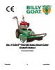 Billy Goat BC2403 Owner Manual