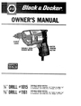 Black & Decker 1015 Manual