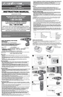 Black & Decker 5106305-00 Instruction Manual