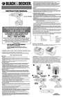 Black & Decker 5146607-00 Instruction Manual