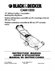 Black & Decker 598968-00 Instruction Manual