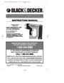 Black & Decker BDBN1200 Instruction Manual