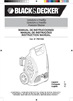 Black & Decker 662275-02 Instruction Manual