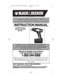 Black & Decker BD14PS Instruction Manual