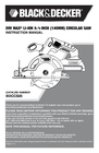 Black & Decker BDCD2204KIT Instruction Manual