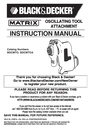 Black & Decker BDCMTO Instruction Manual