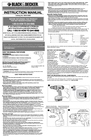 Black & Decker 5145557-04 Instruction Manual