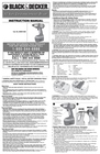 Black & Decker 5106173-00 Instruction Manual