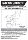 Black & Decker BDPH200 Instruction Manual