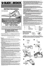 Black & Decker 5105119-02 Instruction Manual
