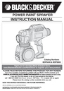 Black & Decker BDPS400K Instruction Manual