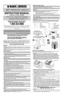 Black & Decker 5148415-00 Instruction Manual