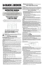 Black & Decker 5147851-00 Instruction Manual