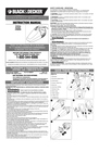 Black & Decker 90068347 Instruction Manual