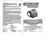 Black & Decker WS100AB Instruction Manual