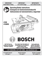Bosch Appliances 4100 Manual