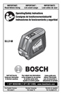 Bosch Appliances GLL2-50 Manual