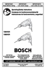 Bosch Power Tools 1004VSR Manual