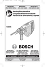 Bosch Power Tools 11236VS Manual