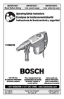 Bosch Power Tools 11263EVS Manual