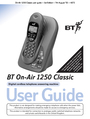 BT 1250 Classic Manual