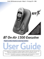 BT 1300 Executive Manual