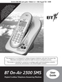 BT 2300 SMS Manual