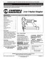 Campbell Hausfeld CHN10401 Manual