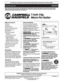 Campbell Hausfeld CHN10510 Manual