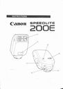 Canon 200E Manual