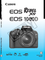 Canon 1000D Manual