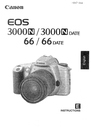 Canon 3000N DATE Manual