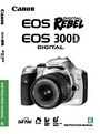 Canon 300D Instruction Manual