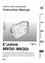 Canon 30 Manual