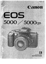 Canon 5000QD Manual