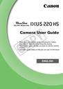Canon 300 HS Manual