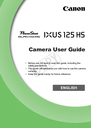 Canon 125 HS Manual