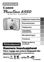 Canon A550 Manual